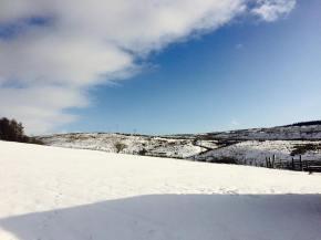snow, winter, december