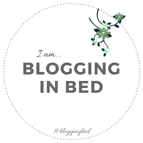 I am Blogging in Bed