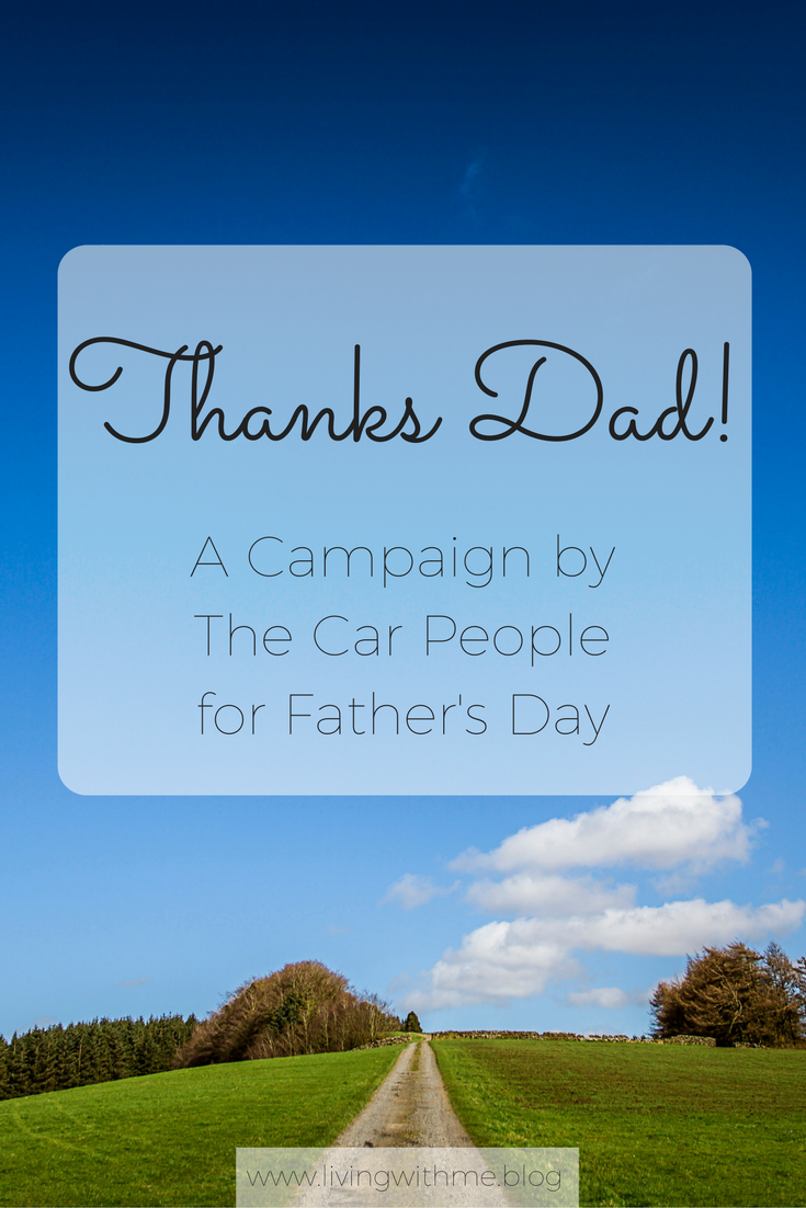 I've joined The Car People with their campaign for Father's Day to talk about my favourite car journey's with my Dad!