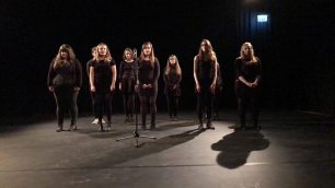Singing Soc performing at the Dance Christmas Show!